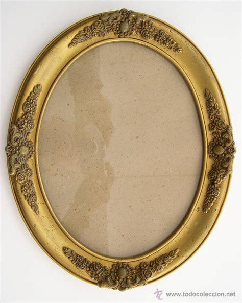 marcos antiguos para cuadros antiguo marco de madera en ovalado comprar marcos