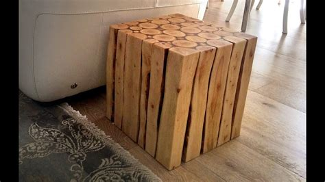 wood project     stylish wooden side table part