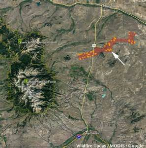 Montana Fire Map by Modis Wildfire Today