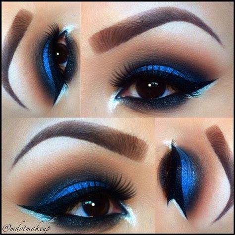 Eyeshadow Ver 88 as 25 melhores ideias de blue eye makeup no tutorial de maquilhagem e maquilhagem