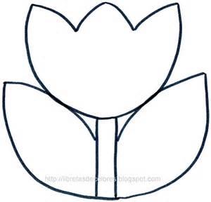 De tulipanes para dibujos pintar flores picture pictures