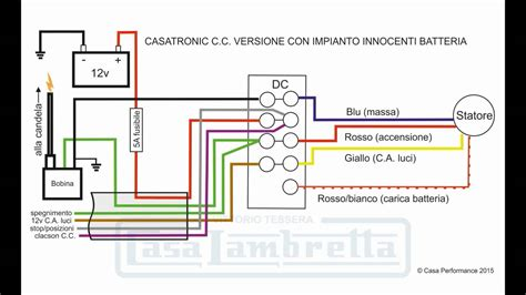 lambretta 12v wiring diagram 1 wire alternator wiring