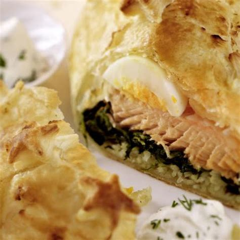 Reader Recipe Salmon With Puff Pastry And Pesto by 10 Best Salmon Spinach Puff Pastry Recipes Yummly