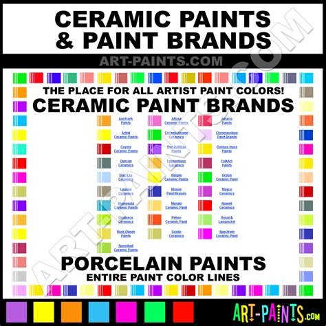 ceramic paints ceramics porcelain glazes stains bisque greenware and pottery paint
