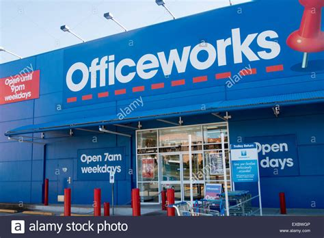 officeworks store in sydney australia based on the office stock photo royalty free image