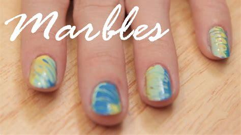 Waterless Marble Nail