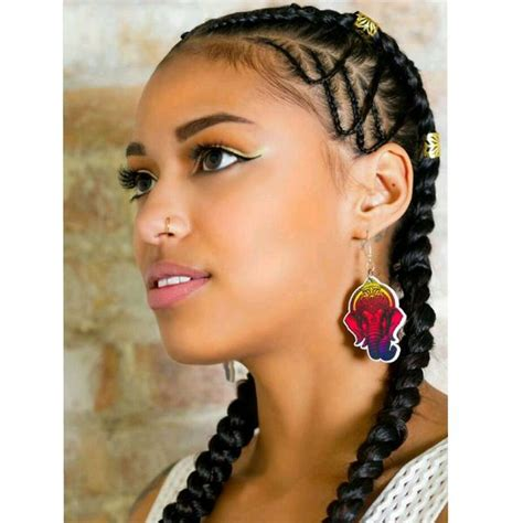 2 Braids Hairstyles by Two Braids Hairstyles American Hairstyling