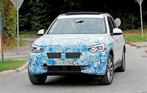 Bmw Electric Suv 2020 by 2020 Bmw Ix3 Electric Suv Spied Flaunting Yellow Wiring