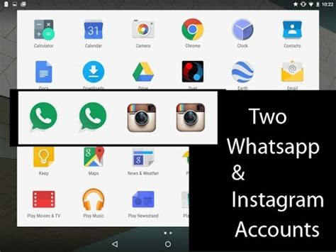 tutorial accounts on instagram two dual whatsapp and two instagram accounts installation