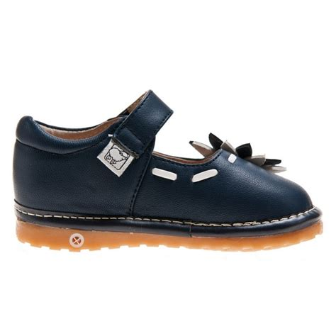 navy blue shoes for toddler toddler leather squeaky shoes navy blue janes