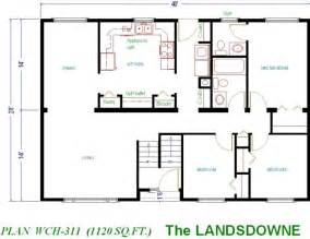Cabin Plans Under 1000 Sq Ft by Gallery For Gt Small House Plans Under 1000 Sq Ft With Loft