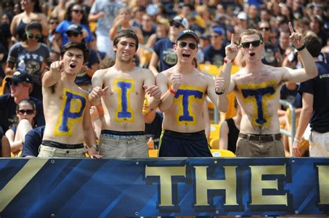 pitt student section pitt eclipsed its all time record for football season