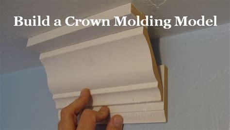 piece crown molding  common mistakes  joy