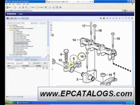 volvo parts catalog repair service youtube