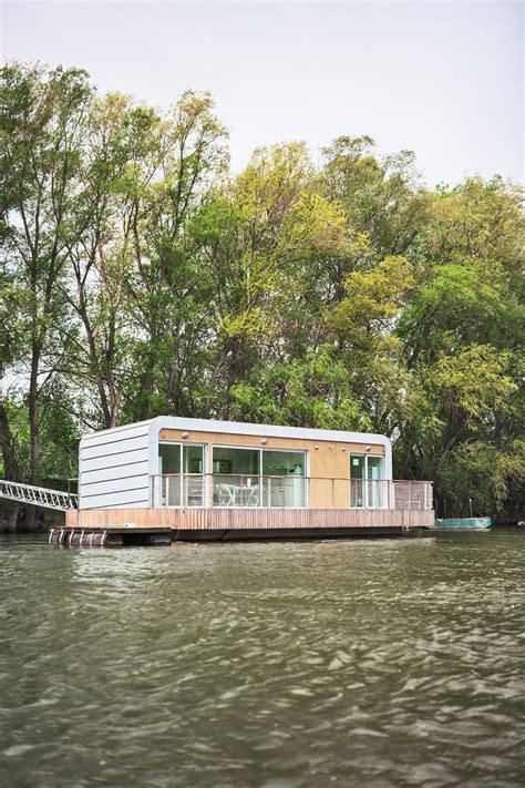 prefabricated floating house can be shipped worldwide photo 5 of 7 in 6 modular houseboat and floating home
