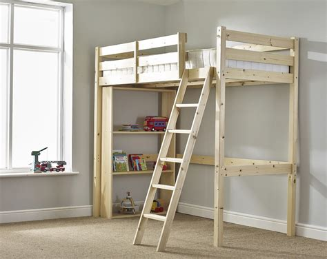 3 Foot High Bookcase Celeste 3ft Single Heavy Duty High Sleeper Bunk Bed With