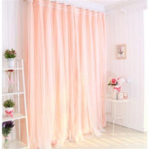 peach ruffle curtains peach curtain