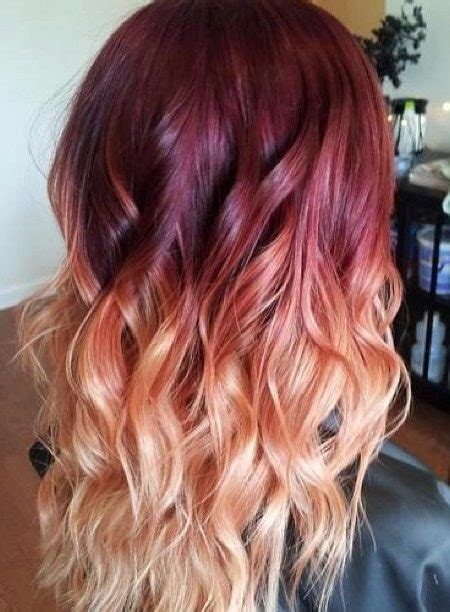 color 12 and black hair wea burgundy ombre hair color ideas for 2017 haircuts