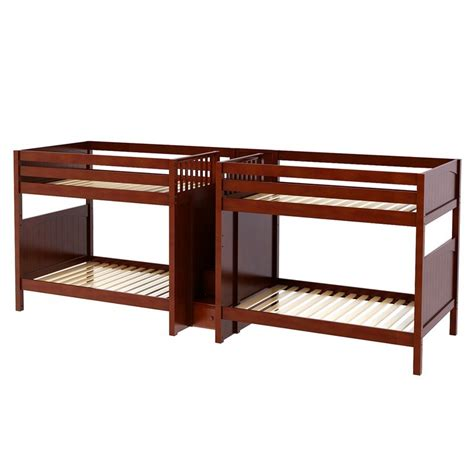 quadruple bunk bed maxtrixkids giga cp quadruple bunk bed with staircase