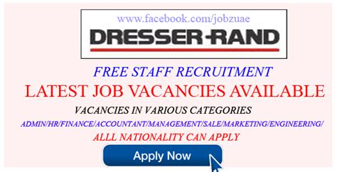 Dresser Rand Career by Business Careers Recruiting Now At Dresser Rand