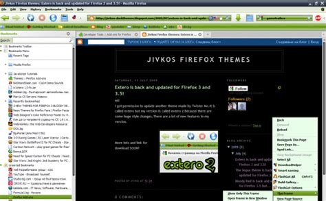 themes firefox 42 42 cool and colorful firefox themes compatible with 3 6