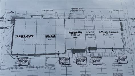 strip mall floor plans san diego community news group pb strip mall s complete