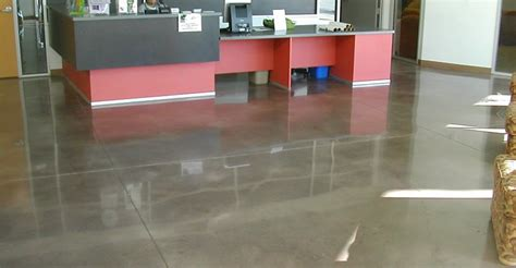 Garage Floor Paint Designs concrete office flooring the concrete network