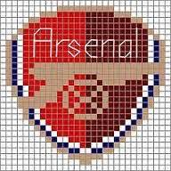 arsenal hama 14 best images about perler sport on logos