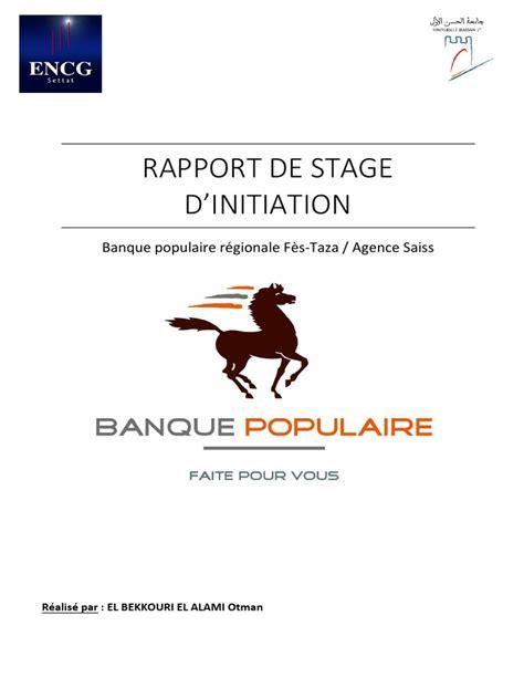 Lettre De Motivation Stage Banque Populaire lettre de motivation banque populaire