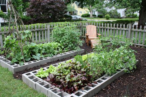 raised garden with cinder blocks cinder block raised garden bed is easy diy the whoot