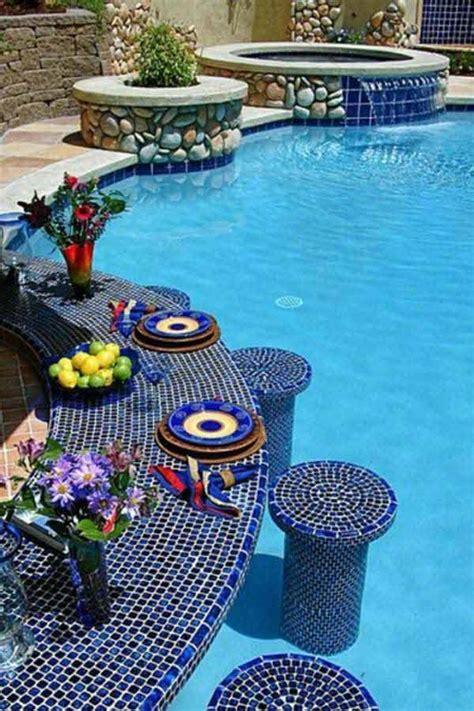 summer pool bar ideas  impress  guests