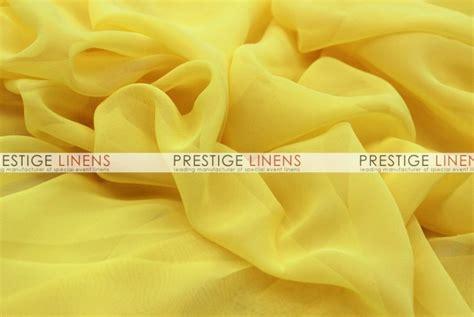 chiffon draping chiffon draping yellow prestige linens