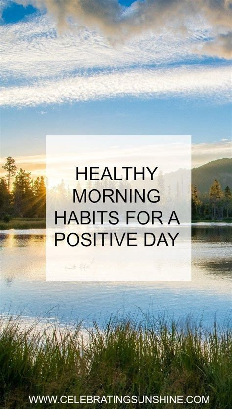 34 morning daily routine habits for a healthy start to 1000 ideas about healthy morning routine on pinterest