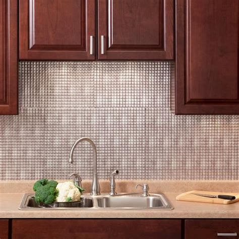 menards kitchen backsplash fasade square 18 quot x 24 quot pvc backsplash panel at menards 174