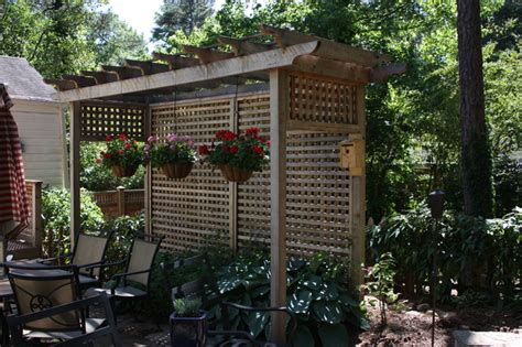 Pergola Privacy Screens by Privacy Fences And Landscaping On Pinterest Privacy