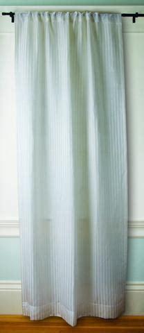 sheer silk curtains sustainable sheer striped hemp silk curtains greensage com