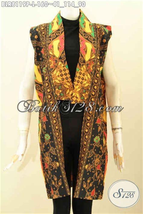 Batik Outer model baju batik wanita terkini outer batik panjang keren