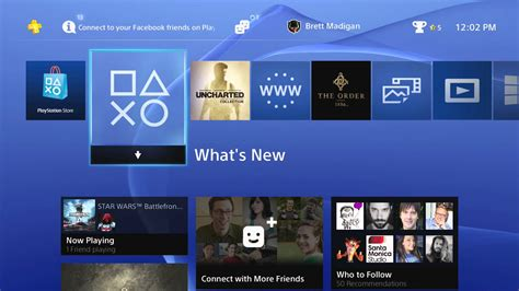 ps3 xmb vs ps4 home screen brief comparison