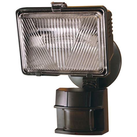 Heath Zenith Outdoor Motion Sensor Lights Heath Zenith 250 Watt 180 Degree Bronze Motion Activated Outdoor Flood Light Hz 5525 Bz The