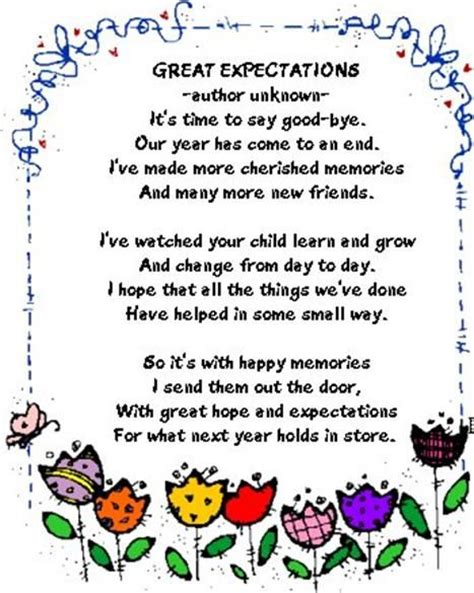 themes of great expectations quotes best 20 preschool graduation poems ideas on pinterest