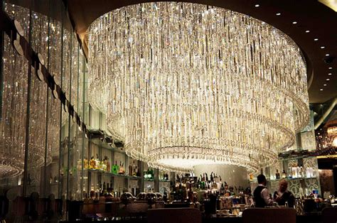 Las Vegas Chandelier Chandelier Bar At Cosmopolitan Hotel Las Vegas Flickr