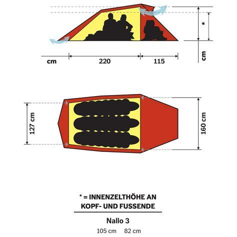 tende 3 posti hilleberg nallo 3 tenda a 3 posti porto franco