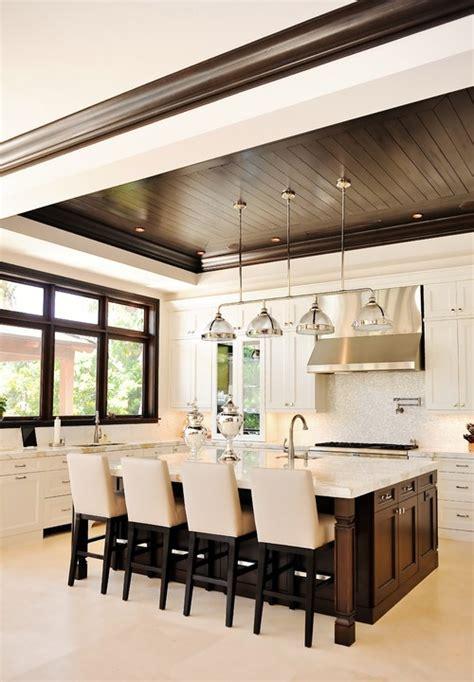 modern kitchen ceiling designs wood trim through the front door