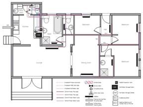Basic Floor Plan Software Plumbing And Piping Plans House Floor Plan Interior