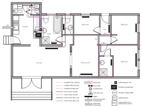 Domestic Plumbing Systems by Domestic Water Piping Diagrams Water Plumbing