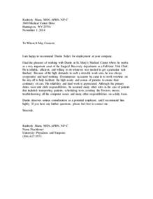 Recommendation Letter Practitioner Letter Of Recommendation 2