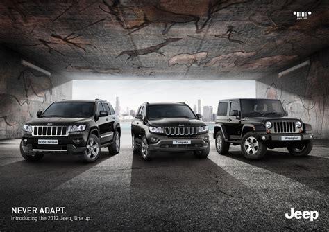 Jeep Advert Chrysler Jeep Never Adapt