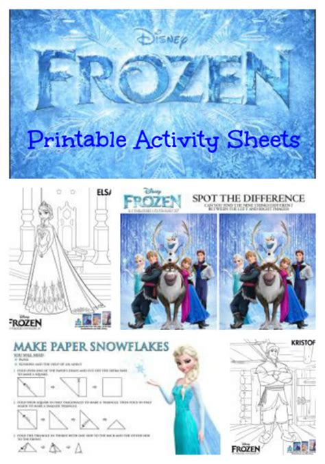 printable frozen activities some of the best things in life are mistakes frozen