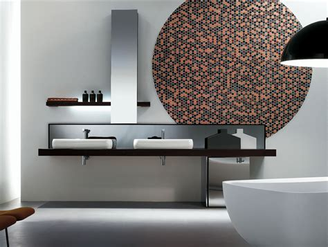 Modern Italian Bathrooms Milldue Kubik 55 Wenge Wood Modern Italian Bathroom Vanities