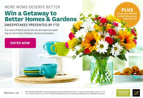 More Sweepstakes - 8 bhg sweepstakes you won t resists in 2017